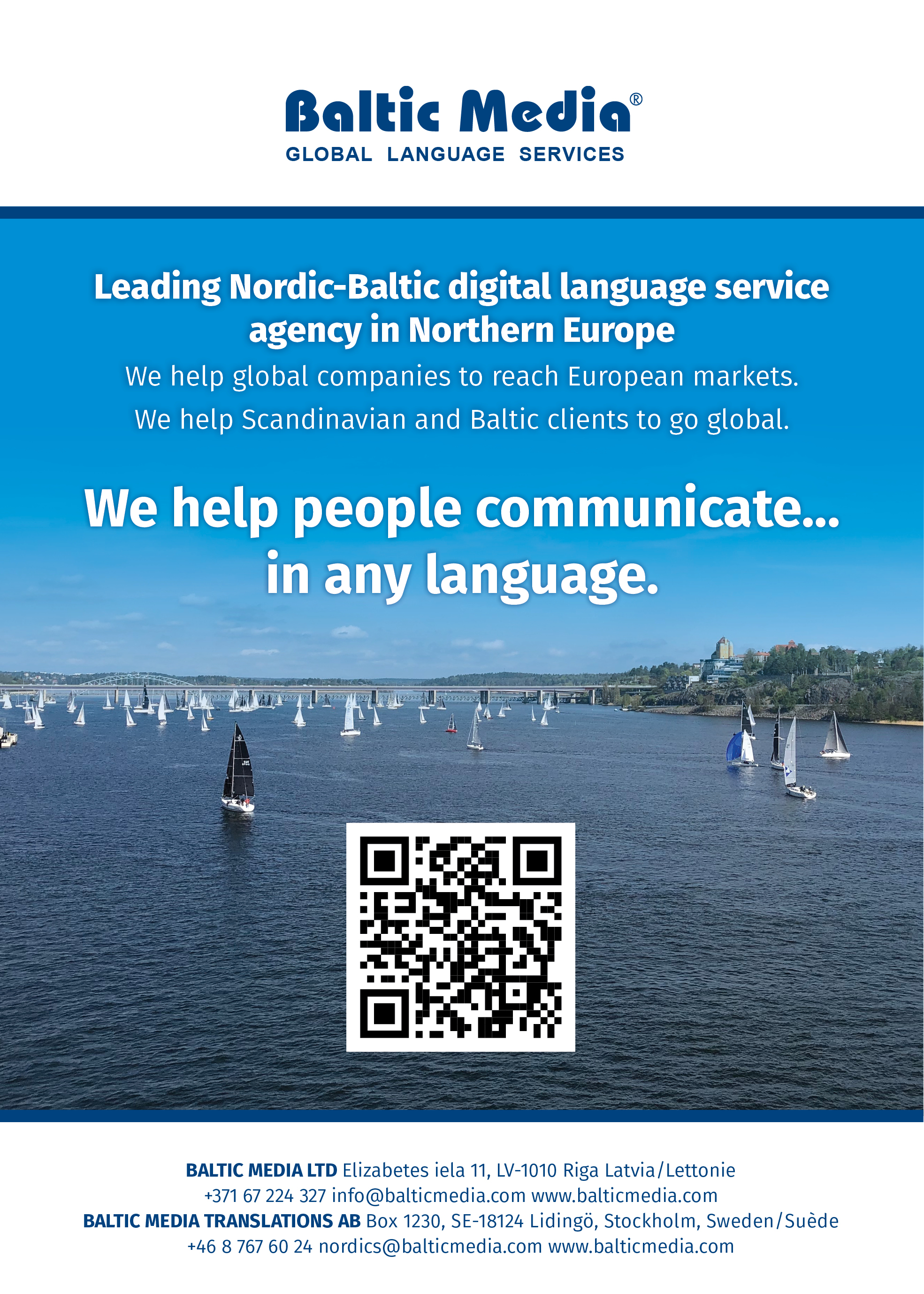 Proofreading and Editing Services | Nordic-Baltic Translation Agency Baltic Media